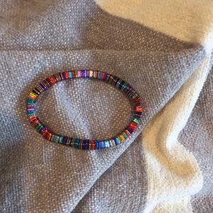 Multicolor stretch braclet